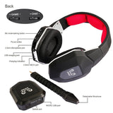 HUHD HW-399M Professional Original 2.4GHz Wireless Optical Fiber Stereo Gaming Headset - Epic Buy International Inc