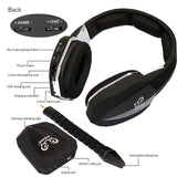 HUHD HW-398 Optical Fiber 2.4G Wireless Professional Stereo Gaming Headset - Epic Buy International Inc
