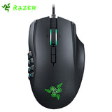 Razer Naga Chroma Gaming Mouse 16000dpi 5G Laser Sensor Razer Mouse 19 MMO Optimized - Epic Buy International Inc
