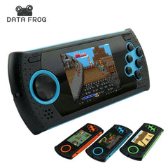Data frog Portable 3 Inch 16 Bit Handheld Game Console Players Gaming Consoles