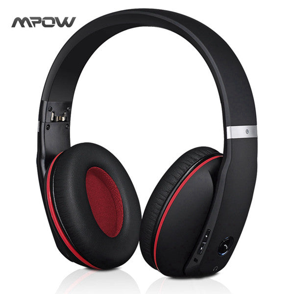 Mpow Phantom Wireless Headphone Bluetooth 4.0 Headset Apt-X Headphones Noise Cancelling Mic MBH22 - Epic Buy International Inc
