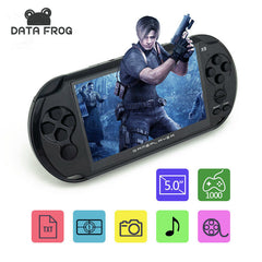 "Data Frog 5.0"" Large Screen 8GB Portable Handheld Game Consoles"