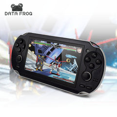 Data Frog 4.3 Inch Handheld Game Players 4 GB 32 Bit Video Game Console Support TV Out Put