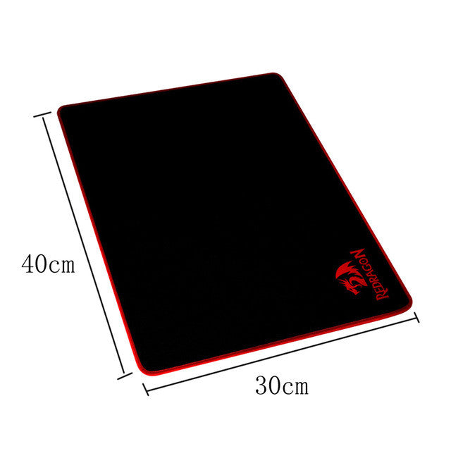 REDRAGON Pro Gaming Mouse Pad with Locking Edge 5mm Thickness Waterproof Rubber - Epic Buy International Inc