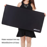 KKMOON Large Size mouse pad Plain Extended Water-resistant Anti-slip Natural Rubber - Epic Buy International Inc