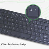 VAKIND Wired Keyboard Illuminated Backlight USB Wired Gaming Keyboard Multimedia Waterproof - Epic Buy International Inc