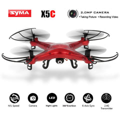 Original  X5C Red Custom Version Quadcopter 2.4GHz 4CH 6-Axis RC Aircraft Drone - Epic Buy International Inc