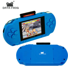 Data Frog 3 Inch 16 Bit PXP3 Slim Station Video Games Player Handheld Game Console