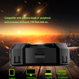 dodocool Portable Gaming Style High Speed 480Mbps USB HUB Four Ports with Breathing LED Light - Epic Buy International Inc