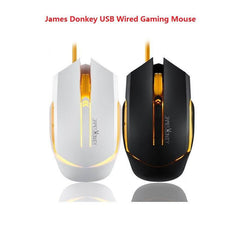 James Donkey 115 USB Wired Gaming Mouse Optical 2000 DPI 6 Buttons