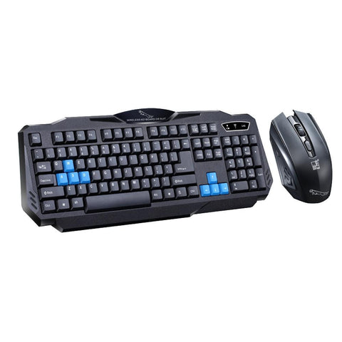 VAKIND Gaming Wireless Keyboard Mouse Combo Set Waterproof USB 2.4Ghz 1600DPI