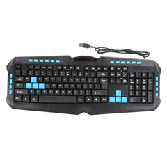 VAKIND Mutifunctional Ergonomic Keyboard For Computer Gaming Waterproof Multimedia USB Wired - Epic Buy International Inc