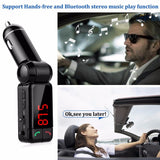 Car Kit Bluetooth FM Transmitter Car MP3 Audio Player Wireless FM - Epic Buy International Inc