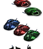 SADA X9 5000DPI Colorful Gaming Mouse 6 Buttons LOL Optical  USB Wired - Epic Buy International Inc