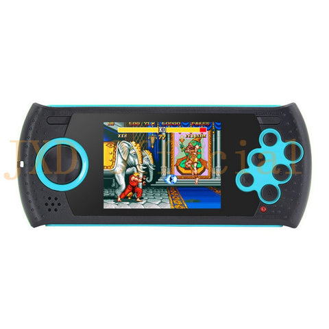 JXD 3.0 Inch 16Bit Retro Game Handheld Player for Sega Game Console Built-in 1100