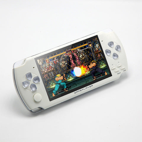 JXD 4.3 inch Handheld Game Console 8Gb Mp4 Mp5 Function Video Game Built In 1200