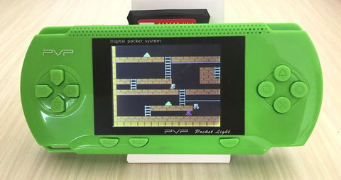 JXD 2.8 Inch Retro Game Handheld Player Classic Games Support AV Cable TV Output PVP Console