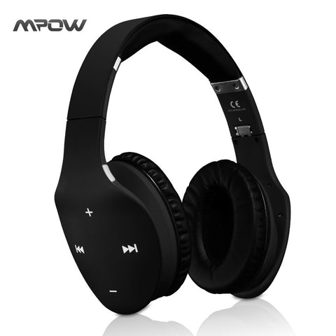 Mpow MBH7 Muze Touch Foldable Wireless Bluetooth 4.0 Headphone Stereo Headphones
