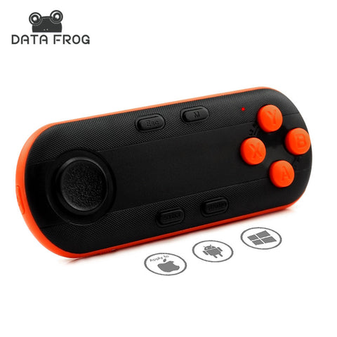 Data Frog Wireless Bluetooth Gamepad VR Remote Mini Bluetooth Game Controller Joystick