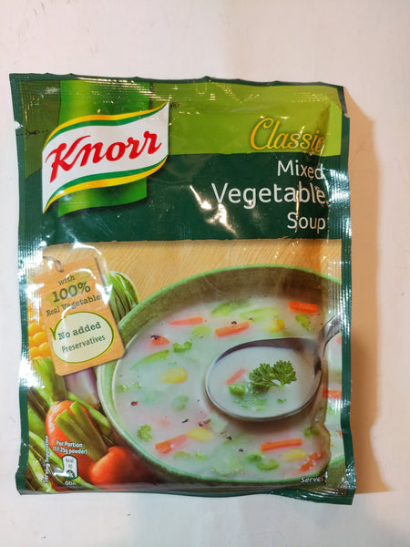Knor Mix Vegetable Soup 45g (野菜スープ)