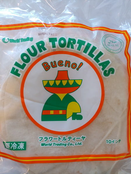 Tortilla or Ruti or Chapati Big 10 Inch 1pkt (トルティーヤ)