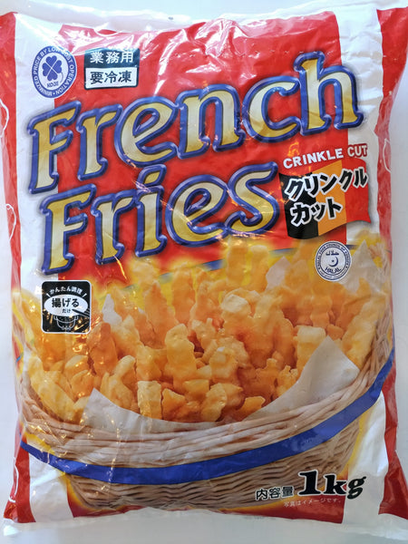 French Fries Crinkle Cut 1kg (フライドポテト)