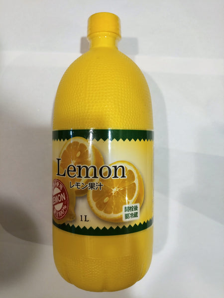 Lemon Juice Big 1ltr (レモン果汁 大)