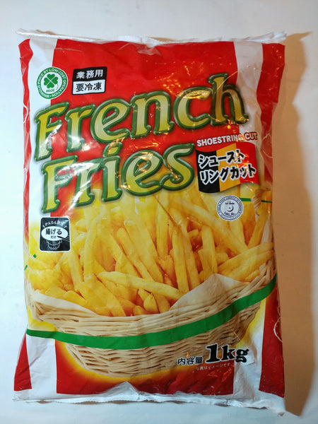 French Fries Shoe Strings Cut 1kg (フライドポテト)