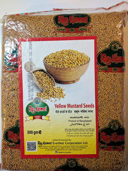 Mustard Seeds Yellow 100 g