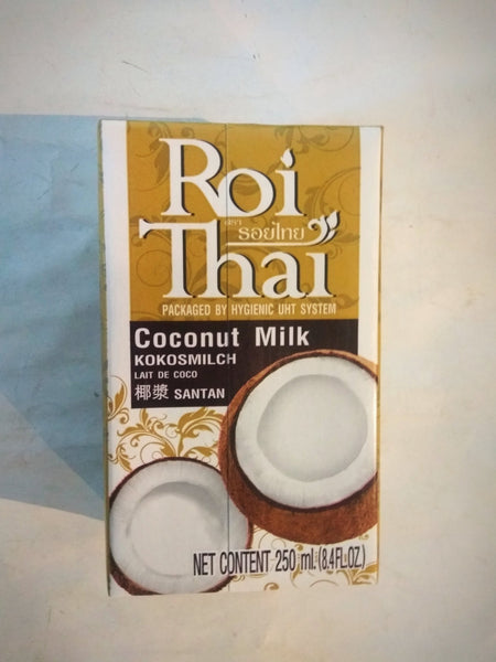 Roi Thai Coconut Milk 250ml ココナッツミルク