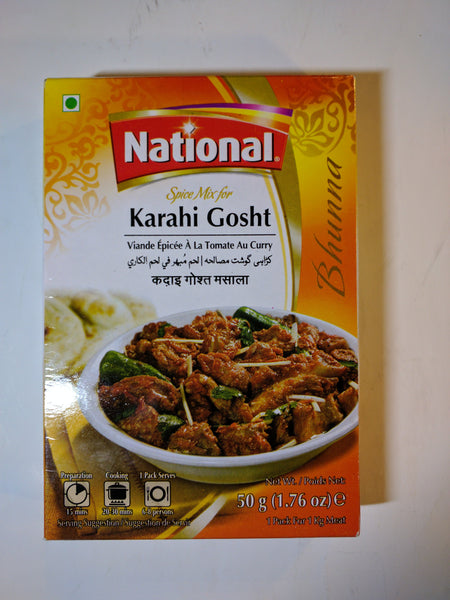 National Chicken Karahi Gosht Masala Mix 50 g