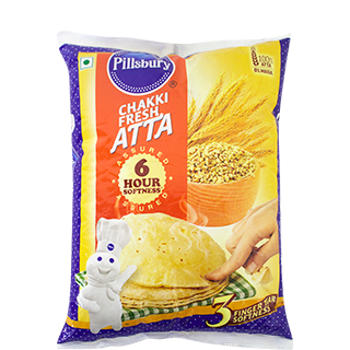 Atta 5kg Bag(Chakki Fresh)