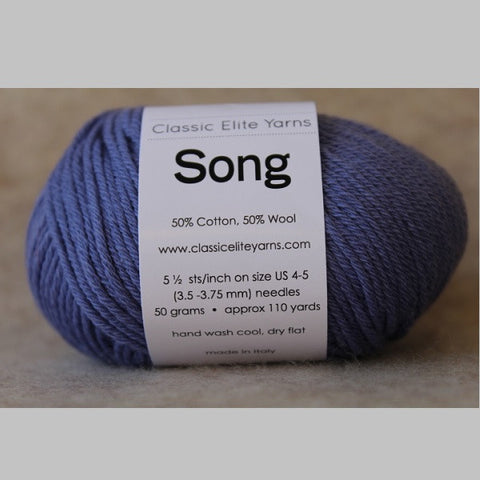 Classic Elite Yarn - Song - Periwinkle