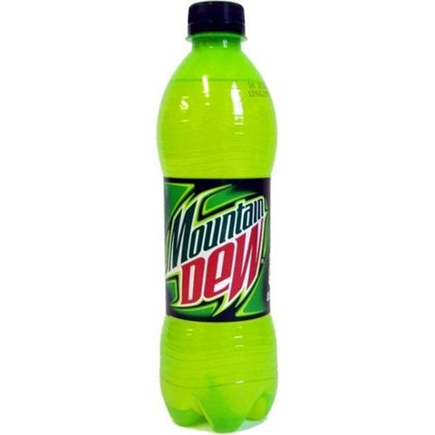 Bottle of Mountain Dew