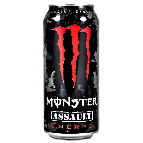Can of Monster Assult