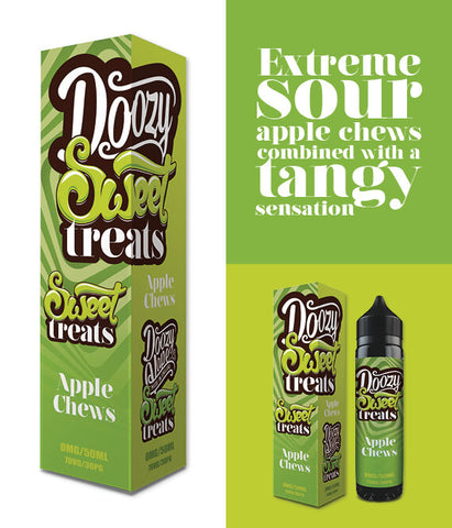 Apple Chews - Sweet Treats 60ml