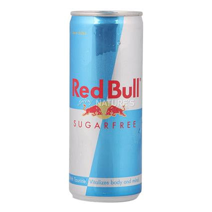 Can of Redbull Sugar Free