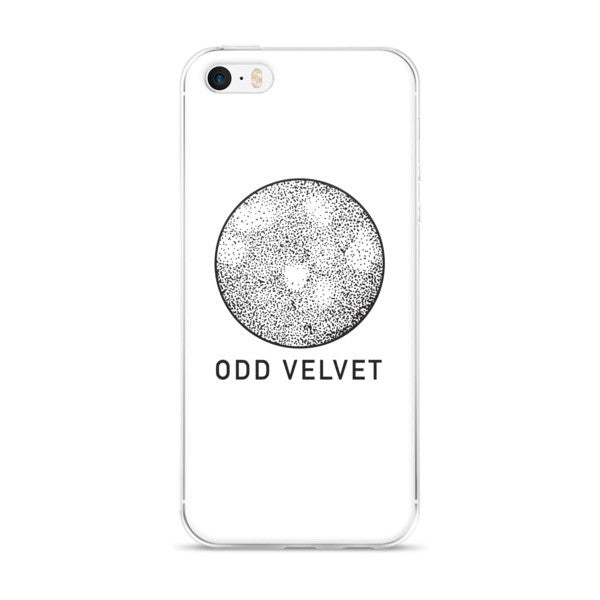 Odd Velvet Logo White iPhone case