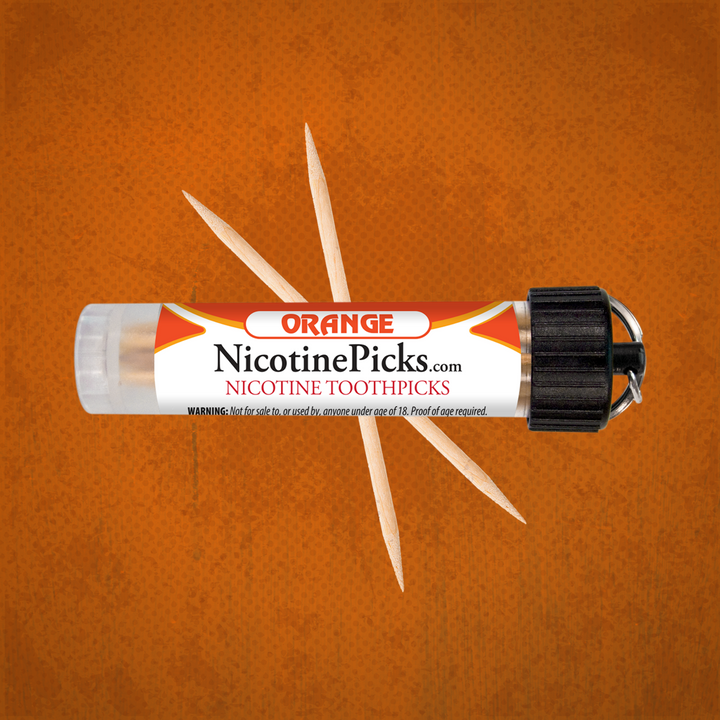 Nicotine Picks™ - Orange - 3mg - Nicotine Picks