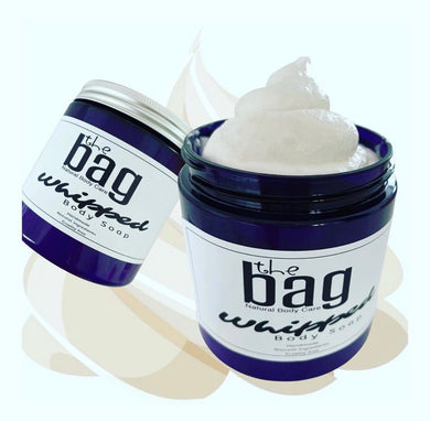 The Bag Whipped Body Soap & Shaving Cream