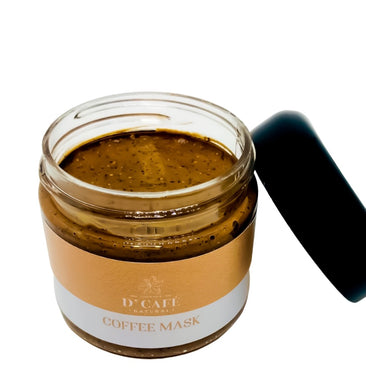 Coffee Face Mask - With Red Clay, Honey & Peppermint