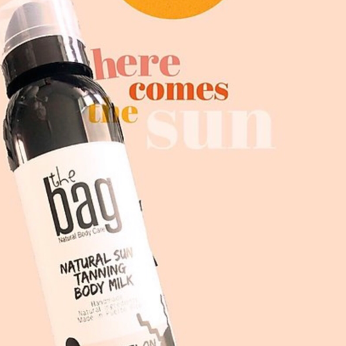 The Bag Sun Tanning Body Milk