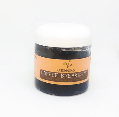 Coffee Break Face & Body Exfoliating Butter