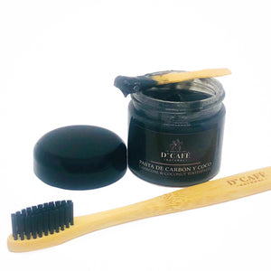 Activated Charcoal & Coconut Natural Toothpaste