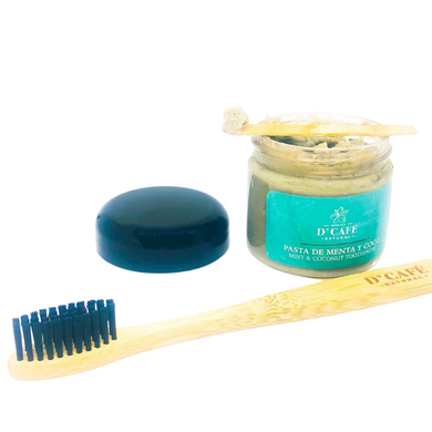 Peppermint & Coconut Natural Toothpaste