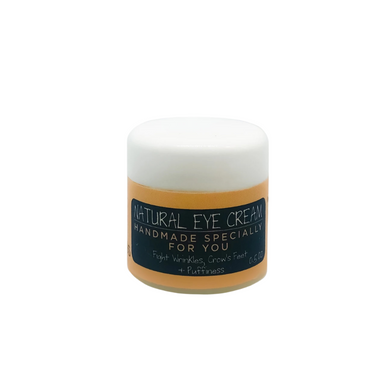 Natural Eye Cream With Hyaluronic Acid + Centella Asiatic