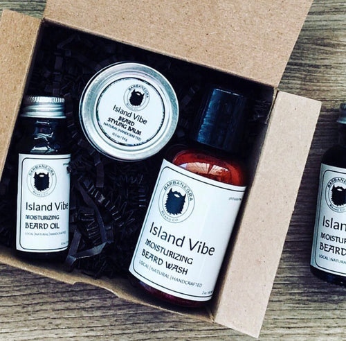 Island Vibe Travel Size Beard Care Kit