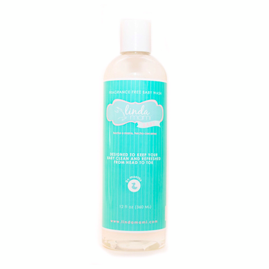 Fragrance Free Head to Toe Baby Wash - Great for adults with sensitive skin