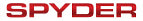 Spyder Auto Logo Authorized Dealer