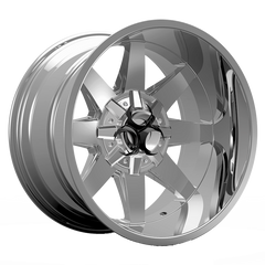Toxic Widow 20x12 Truck Alloy Wheel / Rims | Chrome